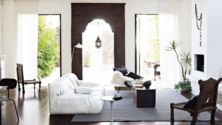 dom w stylu marokańskim